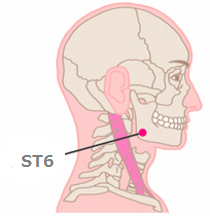Acupoints for Facial nerve paralysis